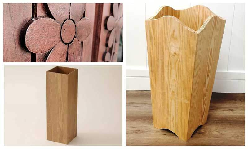 Paragüeros de madera